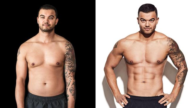 From this to this! Picture: Jason Ierace / Men's Health