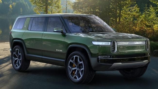 Rivian would also build an SUV off the ute platform. Picture: Supplied.