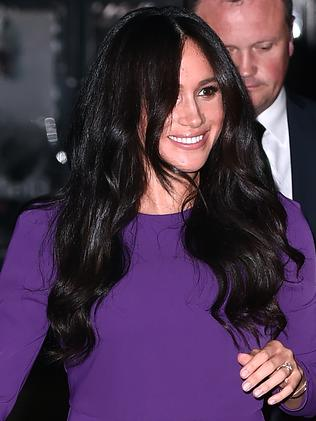 The Duchess was stunning in purple. Picture: Getty Images