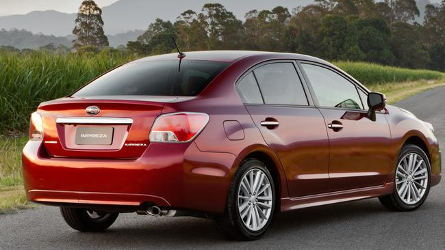 Mixed bag: the sedan had reasonable boot space, the hatch less so.