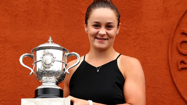 The French Open win hasn't elevated Ash Barty into the Forbes rich list.