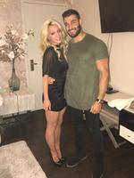 "Britney and BF Sam Asghari, who met on the set of her raunchy Slumber Party video, pose for a pic in Las Vegas: ""Great run in Vegas! Be back Next week!"" Picture: Britney Spears / Instagram"