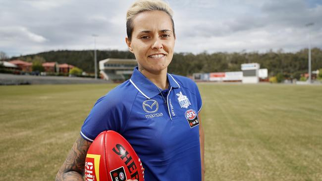Moana Hope is just one of North Melbourne's big-name signings for the 2019 season. Picture: Richard Jupe