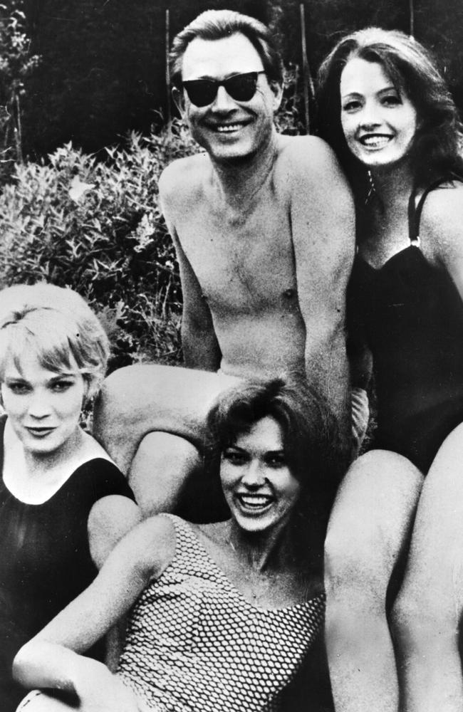 Christine Keeler, (right), with osteopath Stephen Ward (middle). Picture: Express/Express/Getty Images