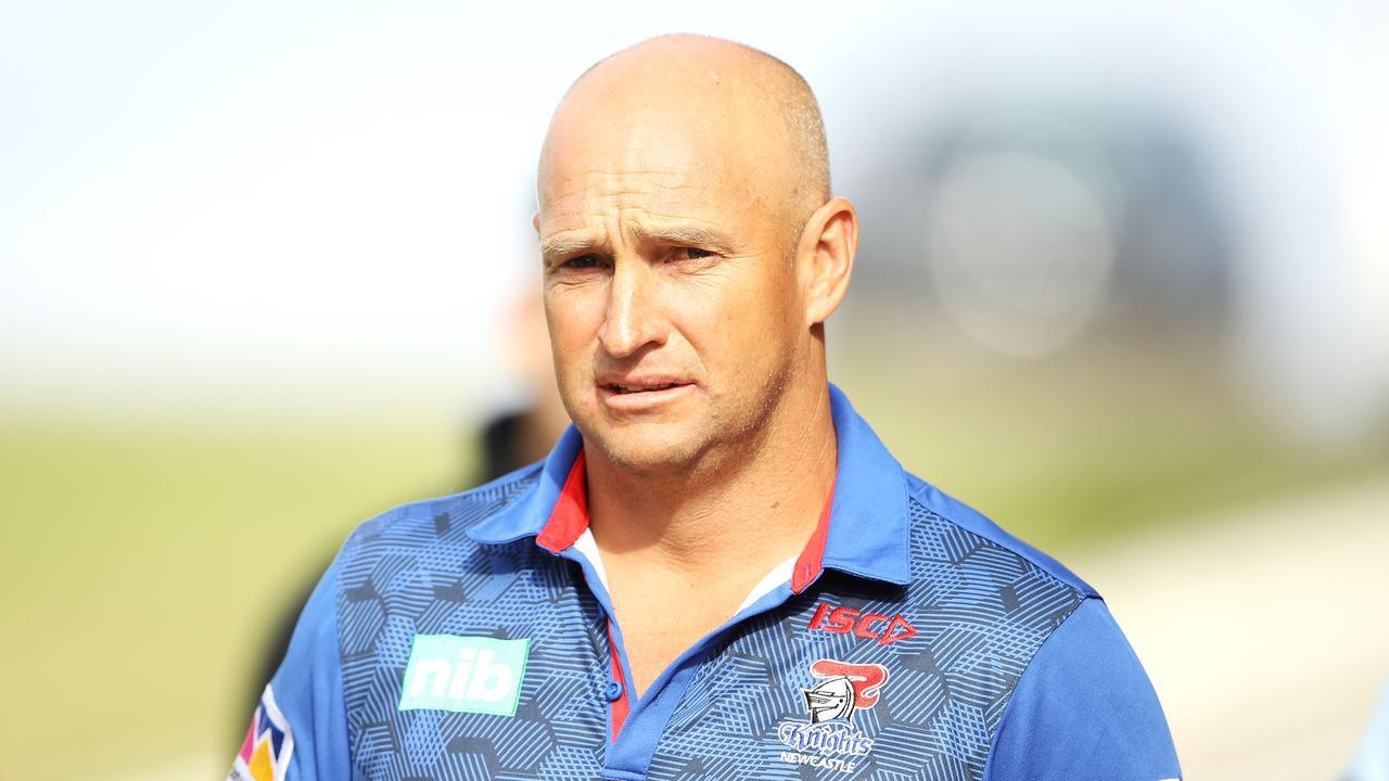 Knights coach Nathan Brown says Gallen misunderstood him.
