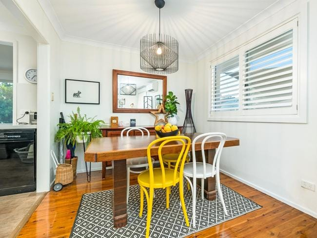The home in Hilary Street has been fully renovated