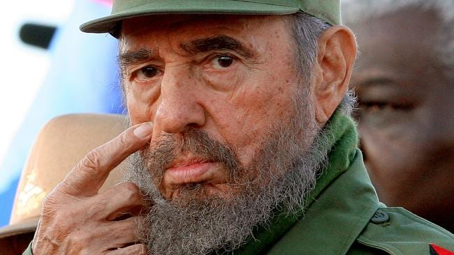 Former Cuban leader Fidel Castro is dead at 90. Picture: AFP/Adalberto Roque