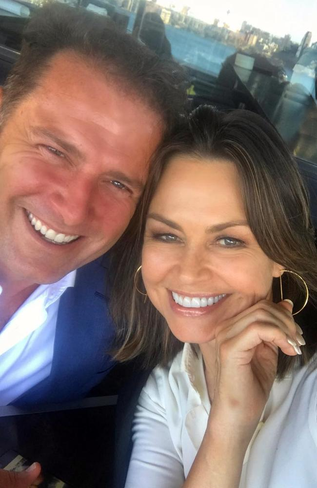 Lisa Wilkinson wished Karl Stefanovic luck for his return to Today next year. Picture: Instagram