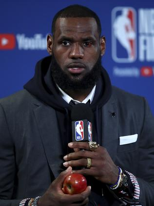 LeBron James. (AP Photo/Ben Margot)