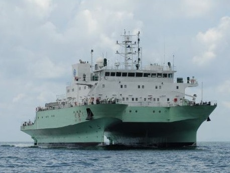 China's Shiyan-1 survey vessel was in September evicted from India's exclusive economic zone around the Andaman and Nicobar Islands. Picture: Chinese Academy of Sciences