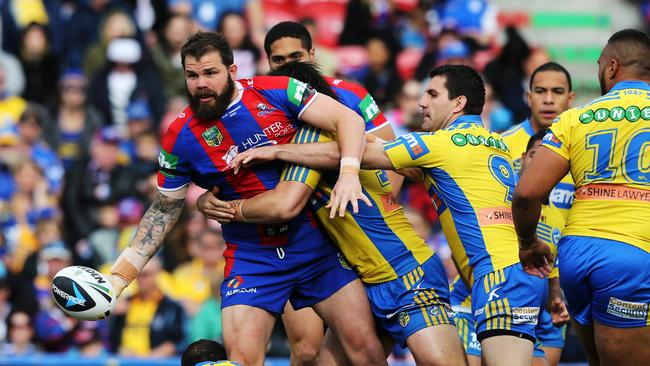 Former Knight Adam Cuthbertson has become one of Leeds best players.