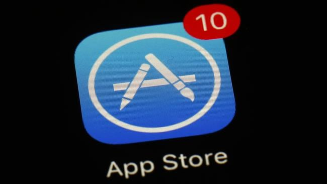 The app store is a huge money maker for the company. Picture: Patrick Semansky