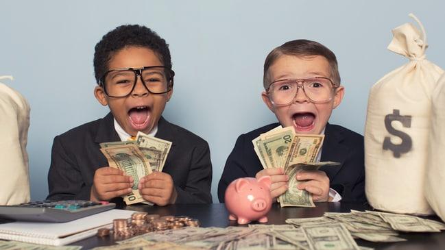 David Koch's top money tools for children