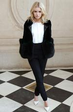 Lottie Moss attends the Christian Dior show as part of the Paris Fashion Week Womenswear Fall/Winter 2017/2018 at Musee Rodin on March 3, 2017 in Paris, France. Picture: AFP