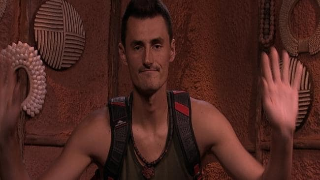Bernard Tomic left the jungle in record time.