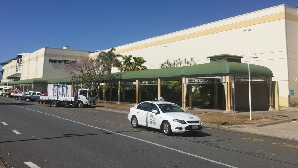 Cairns Central Shopping Centre expansion plans with Myer and