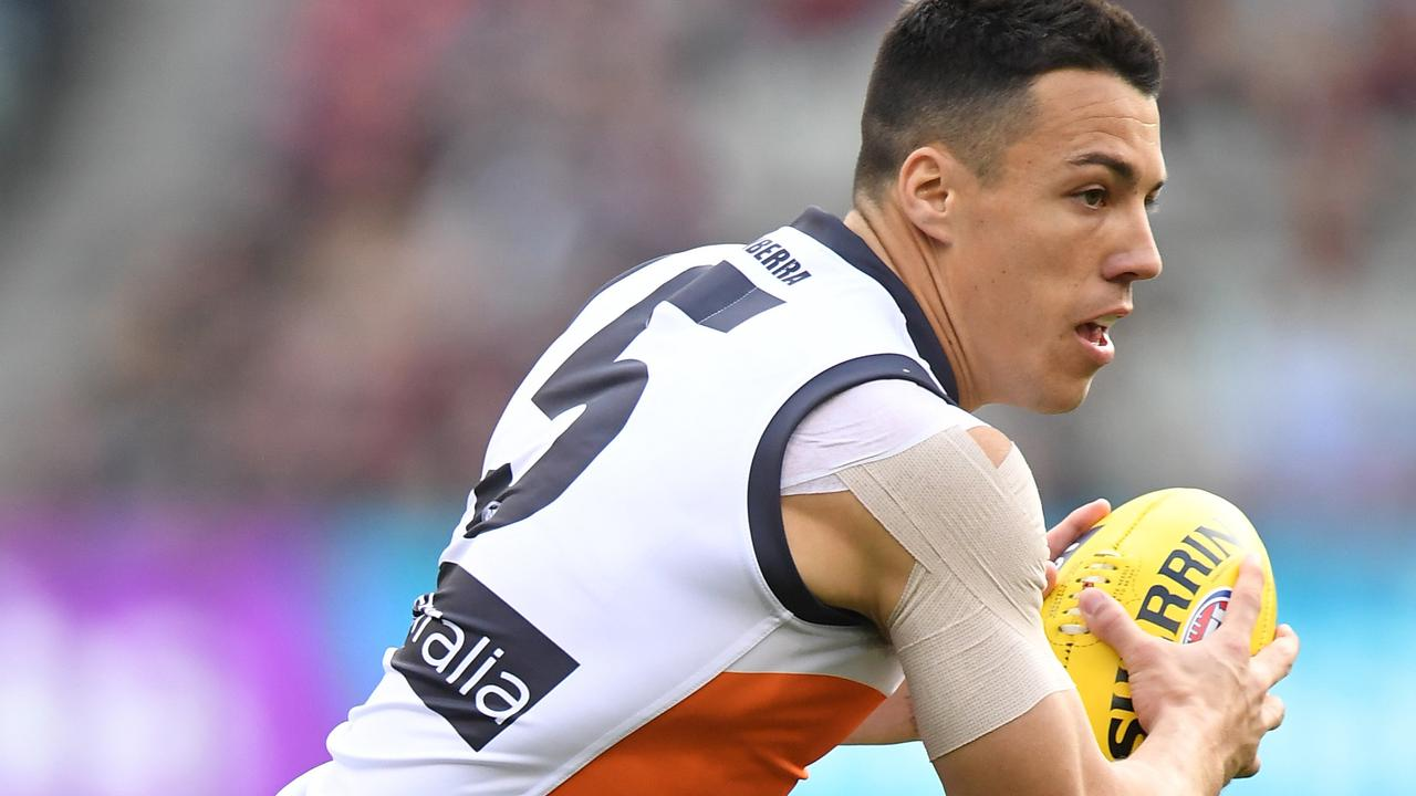Dylan Shiel of the Giants is in hot demand.