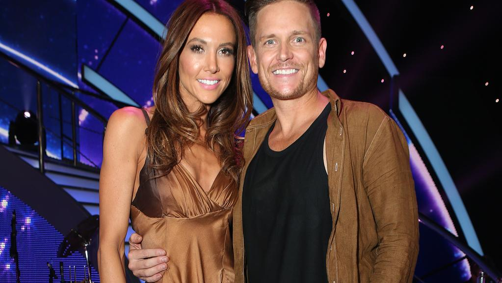Ouch Dancing With The Stars Kyly Clarkes Painful -8249