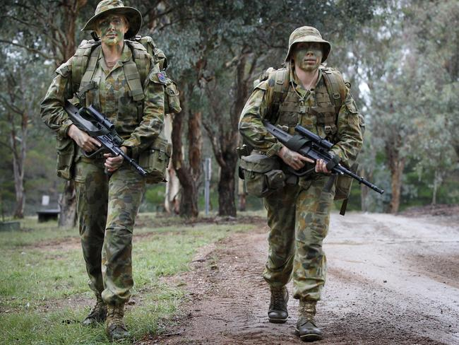 The Army is reportedly aiming to have 25 per cent women in its ranks by 2025.