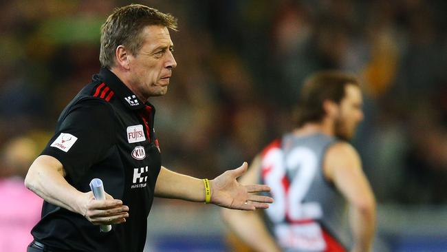 Mark Thompson is yet to commit to a role at Essendon next year.