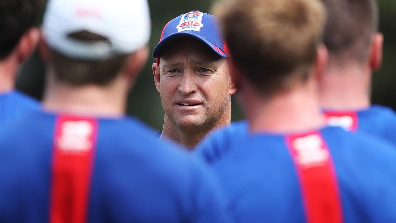 Knights coach Nathan Brown will depart the club at season's end.