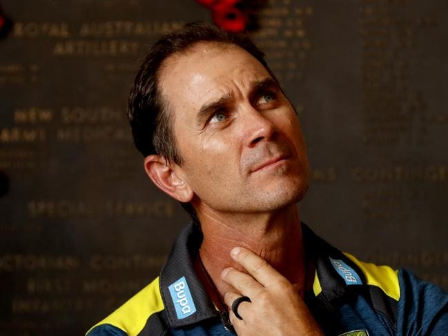 Justin Langer has a big job on his hands.