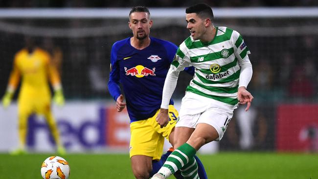 Rogic played the full 90 minutes for Celtic.