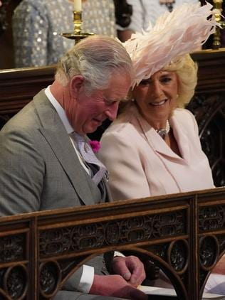 Charles and Camilla. Picture: AP