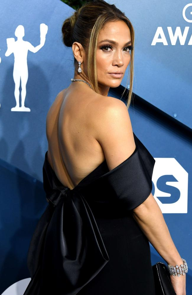 Jennifer Lopez attends the 26th Annual Screen ActorsGuild Awards in January. Picture: Getty Images/AFP.