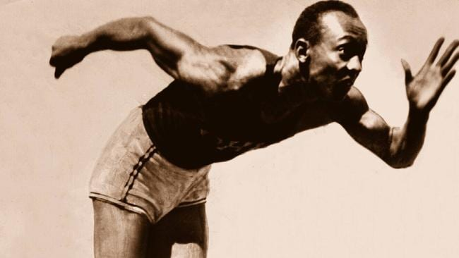 Jesse Owens won four gold medals at the 1936 Berlin Oympics.
