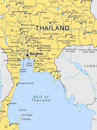 Thailand is one of the most deadly spot for Aussie travellers. Picture: DFAT