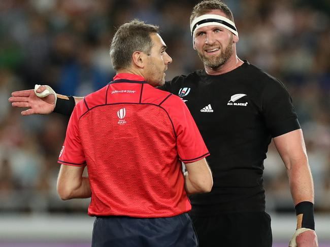 Kieran Read is a protected species.