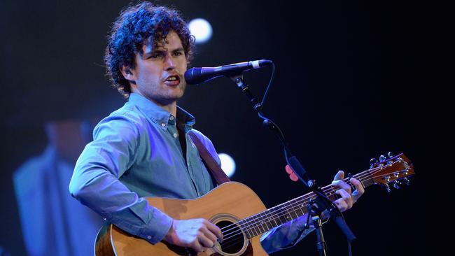 Global success ... Vance Joy is one of the Australian talents to enjoy international acclaim this year. Picture: Rick Diamond / Getty Images.