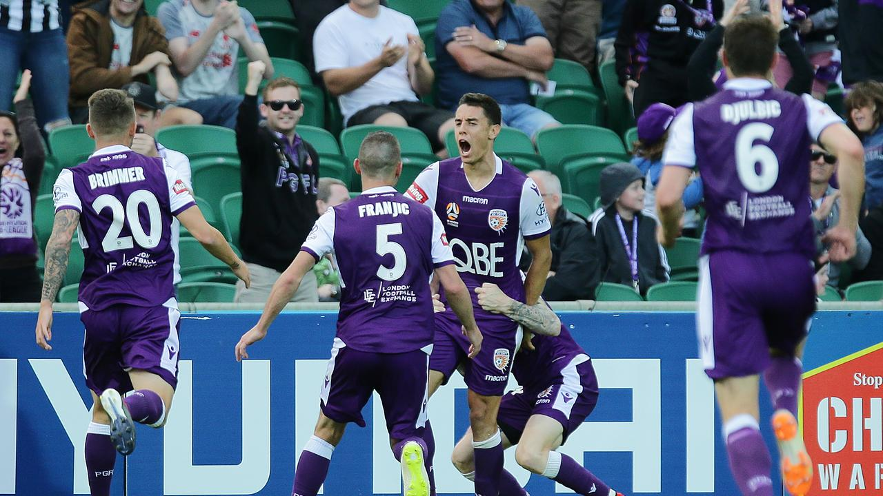 The intensity is already paying off, with Perth unbeaten so far.
