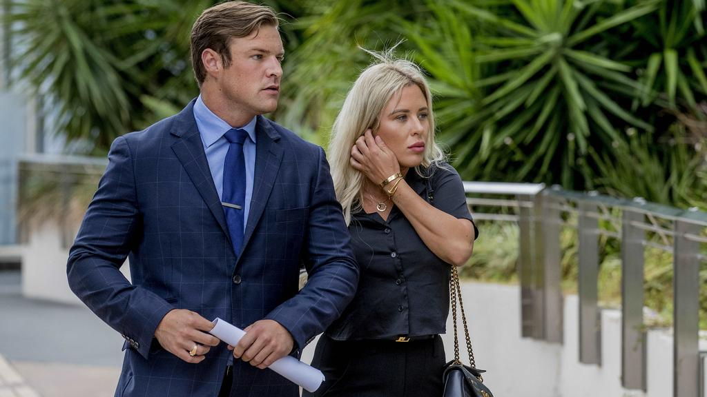 Zachary Samuel Maidment Todd David Appear In Court On Charges Related To Casino Party Involving Stripper Tyana Maree Hansen Gold Coast Bulletin