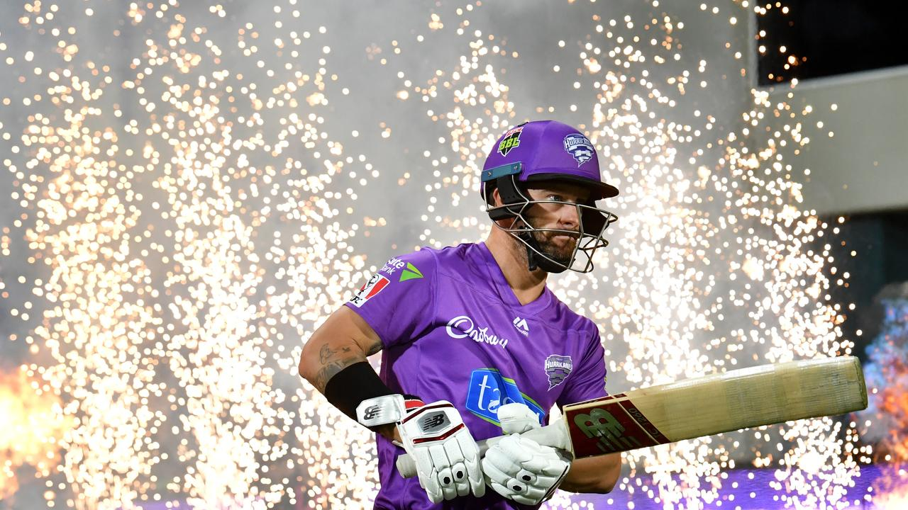 There were no fireworks for Matthew Wade of the Hurricanes this round