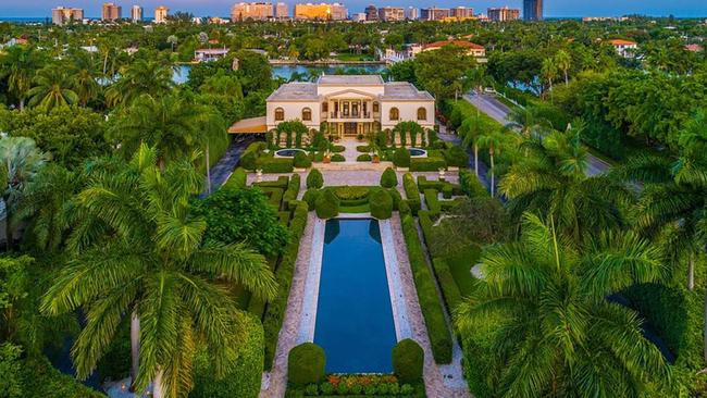 The estate sits on the ultra exclusive private island of Indian Creek. Picture: Realtor.com