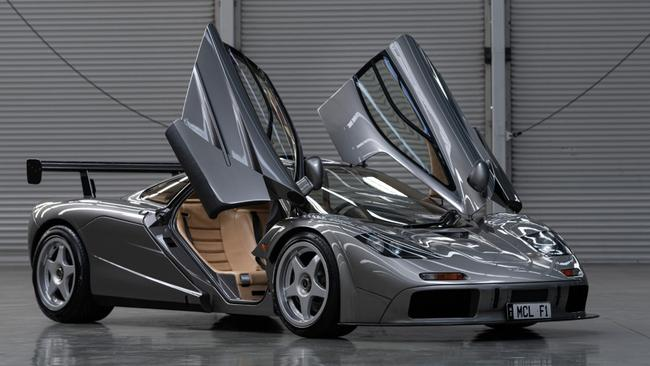A McLaren F1 LM sold for $29m.
