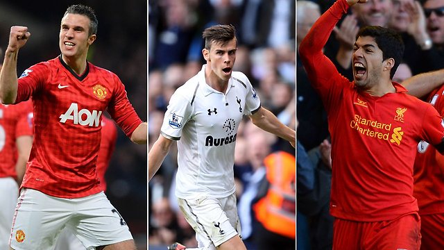 Video and vote: Bale, Suarez, Van Persie ... who is your choice for Premier League player of the year?