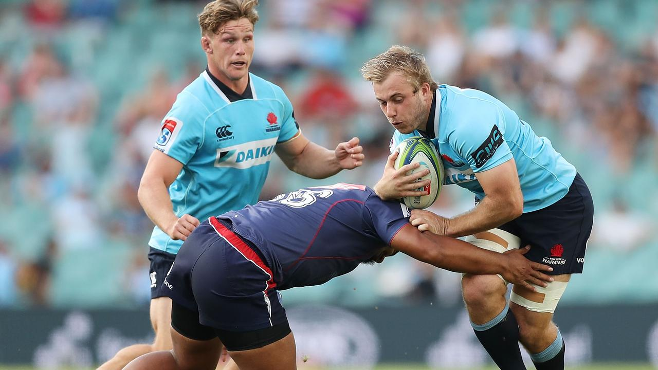 Will Miller has re-signed with the Waratahs until 2019.