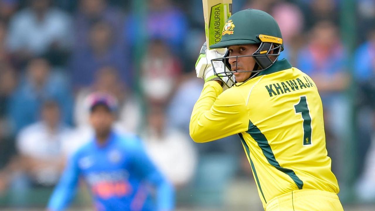 Usman Khawaja was Australia's best batsman in India.