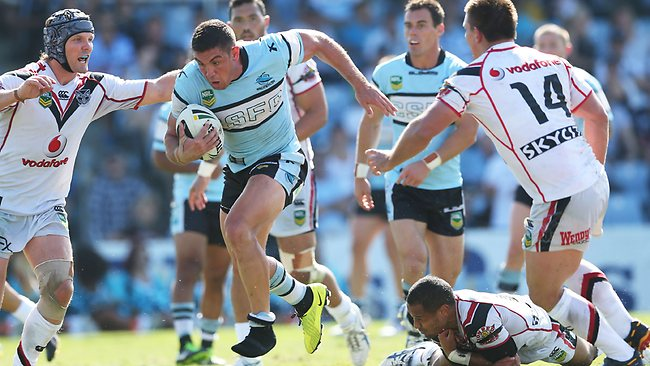 Chris Heighington on the attack. Picture: Phil Hillyard