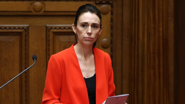 New Zealand Prime Minister Jacinda Ardern refused to be drawn into the scandal. Picture: Hagen Hopkins/Getty Images