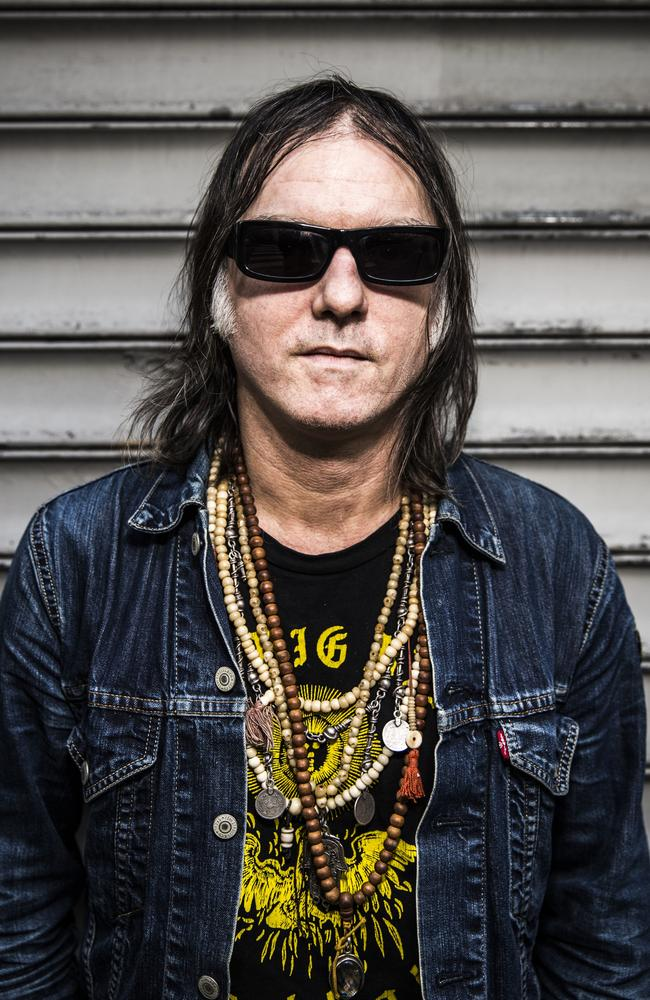 Anton Newcombe is the lead singer of The Brian Jonestown Massacre. Picture: Thomas Girard
