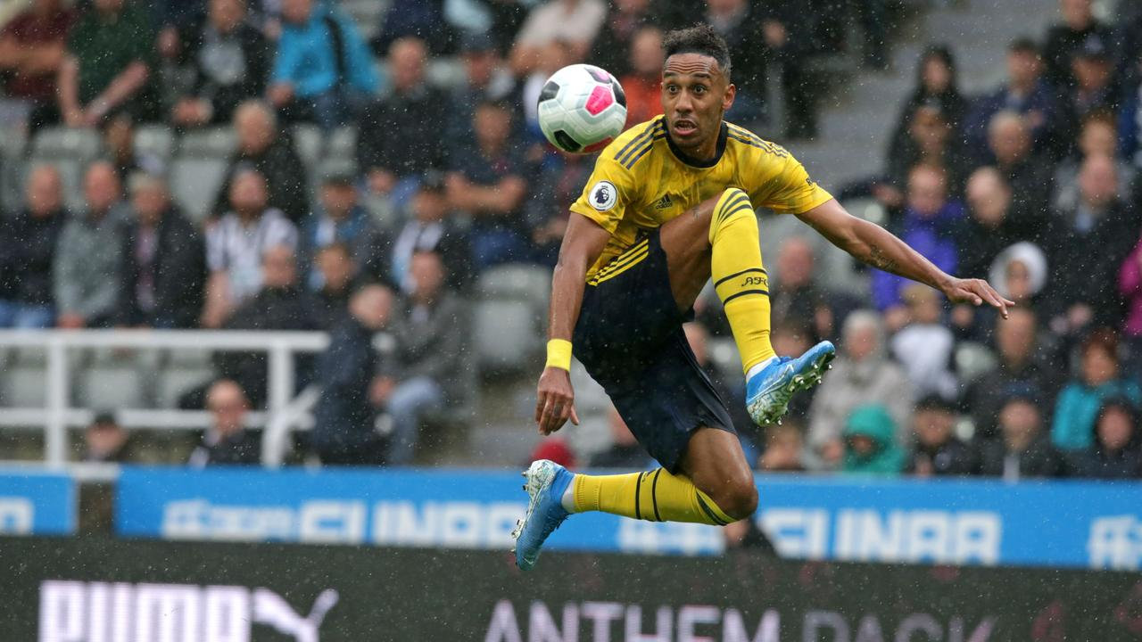 Pierre-Emerick Aubameyang scored the only goal of the game.
