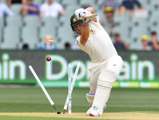 Three balls in, that's the shot Finch played.