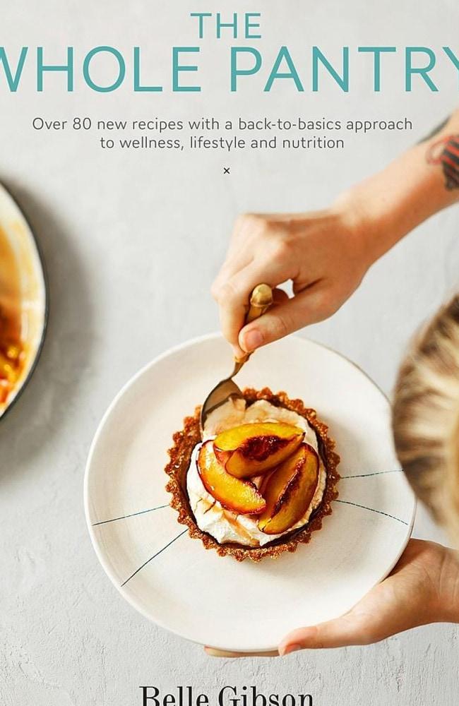 Belle Gibson's recipe book.