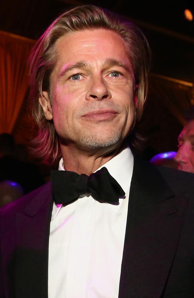 Golden Globe winner Brad Pitt. Picture: Getty Images for Netflix