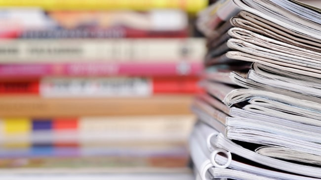 The woman behind the magazines is here to call out the crap. image: iStock.