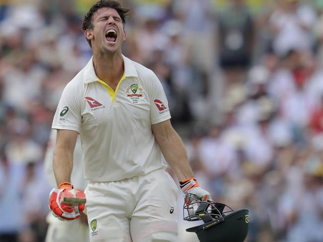Mitchell Marsh wanted to emulate his father.